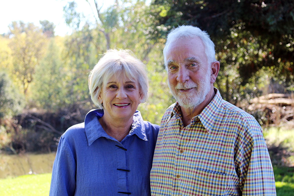 Land Trust honors Joel and Kathy Tranmer