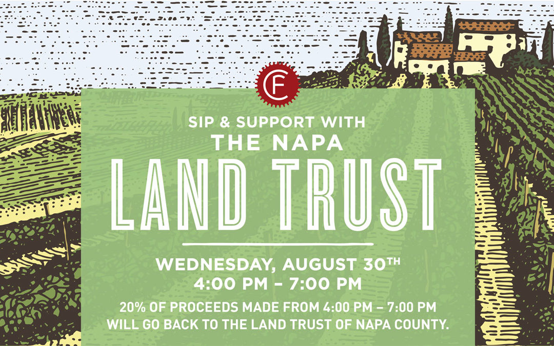 Clif Family Winery Sip & Support Event Aug. 30th