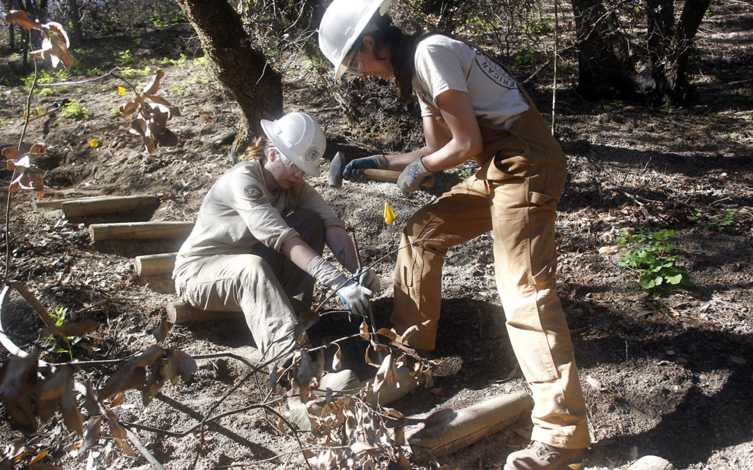 ACE crew helps restore Archer Taylor Preserve trails